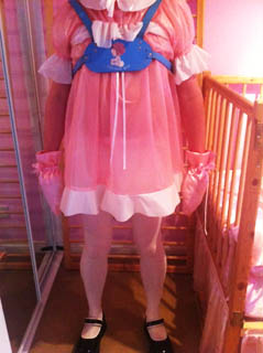 Plastic Adult Baby dress