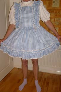 Sissy Dress at Nanny Betty's Adult Baby Nursery