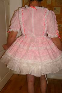 Pretty Adult baby Girl dress
