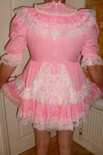 What a cute Sissy dress