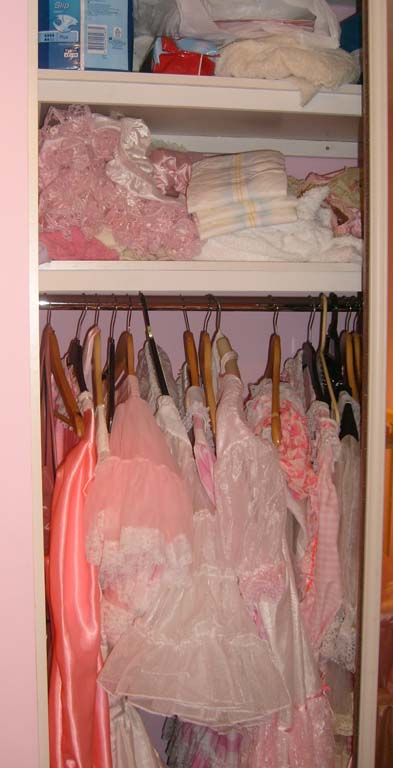 Adult Baby Sissy clothes at Nanny Betty's Nursery Chigwell, Essex London UK