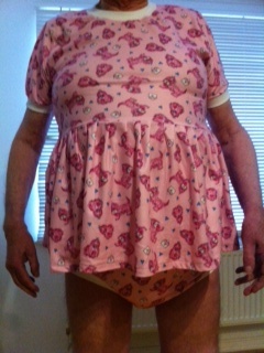 Pink Adult Baby Dress